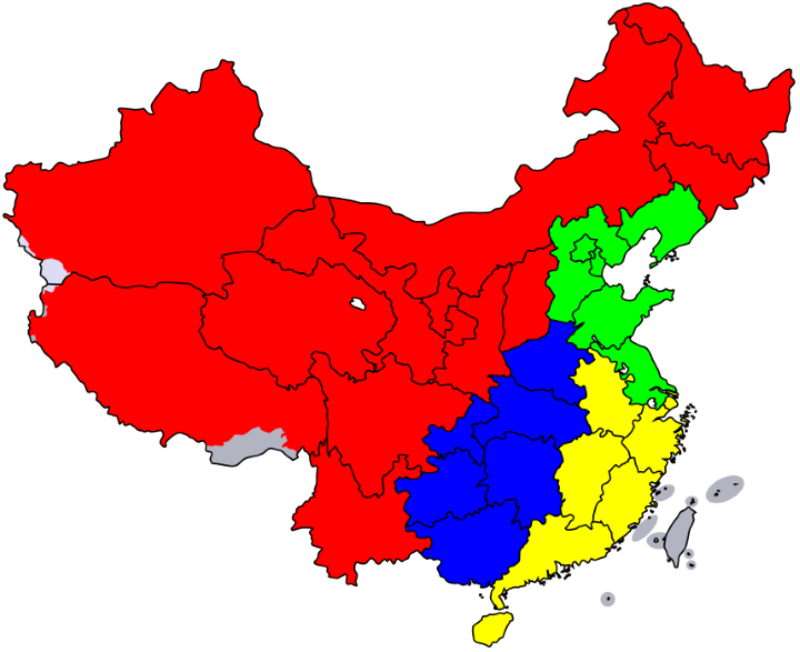 US population fits in China 4 times over
