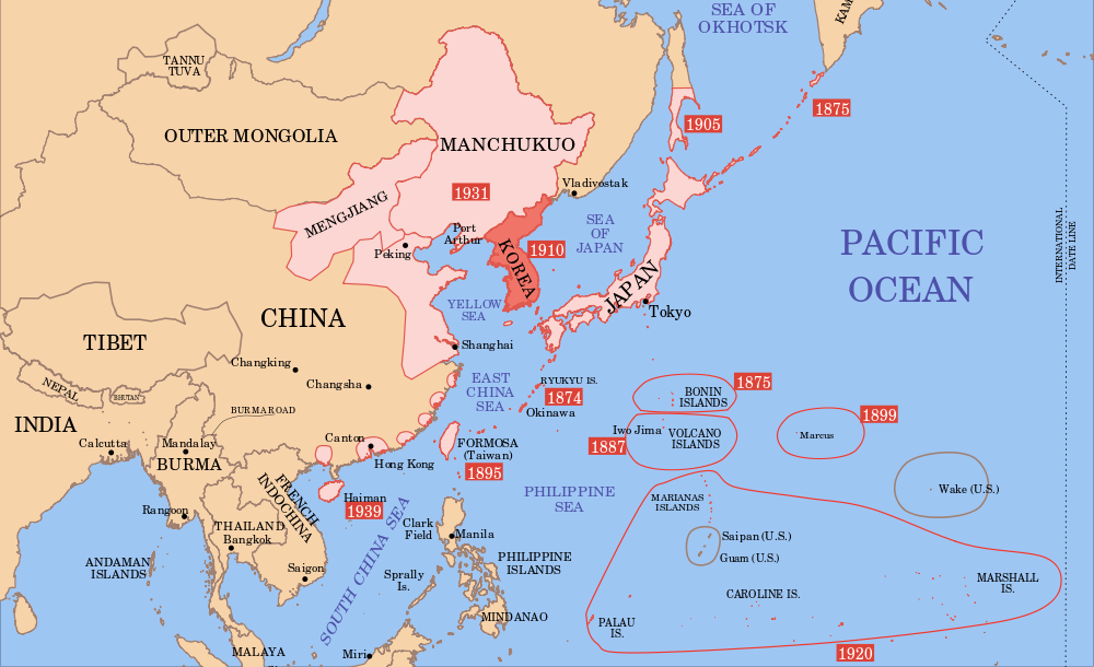 Empire of Japan in 1939