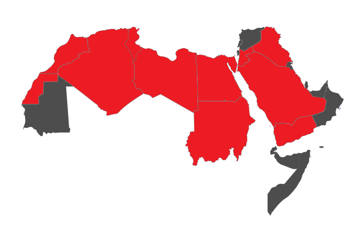 How The US Population Fits In The Arab World