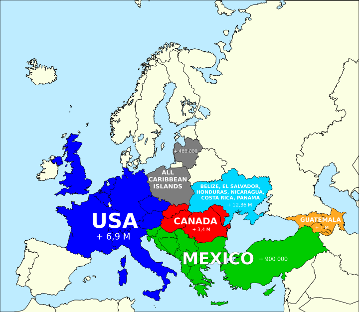 North America In Europe