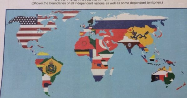 Is This The Worst World Map Ever Brilliant Maps