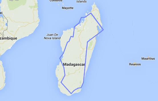 California vs Madagascar