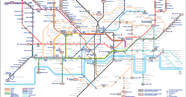 Tube Toilet Map Where Are All The Toilets On The London Underground? This Tube