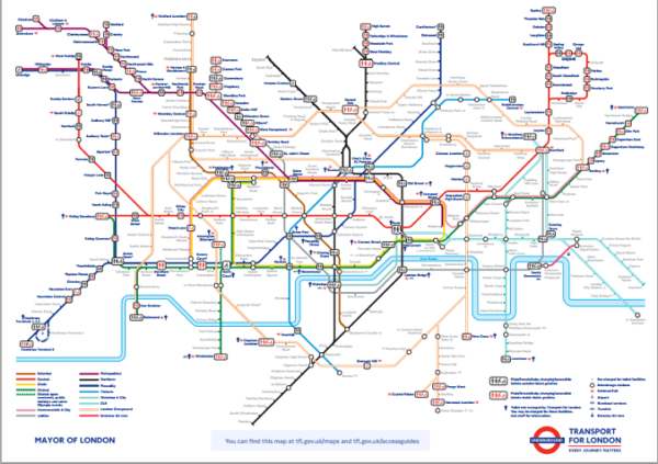 Tube Toilet Map Where Are All The Toilets On The London Underground? This Tube Map
