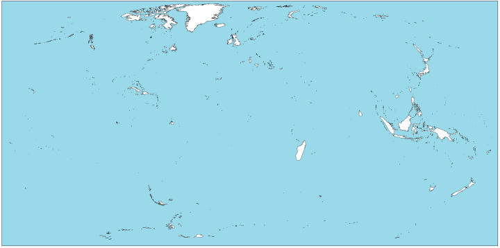 The world with only islands