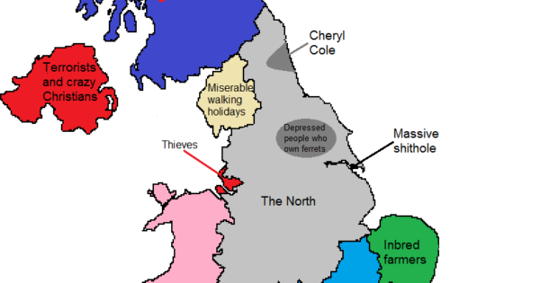 How North Londoners View The Rest Of The UK Or Why The