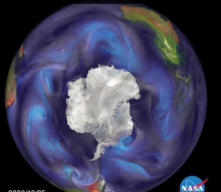 Antarctica Pollution