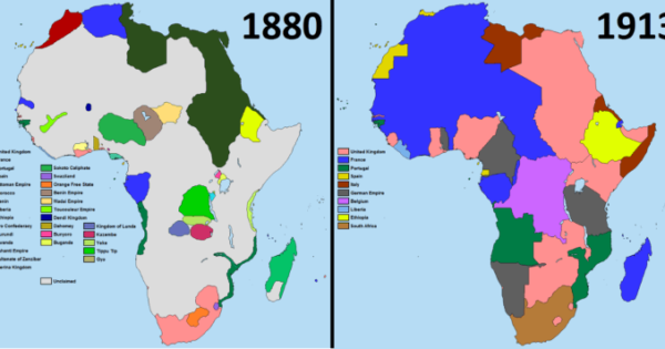 Colonial Africa On The Eve of World War I