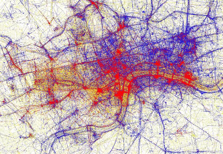 London tourists vs locals