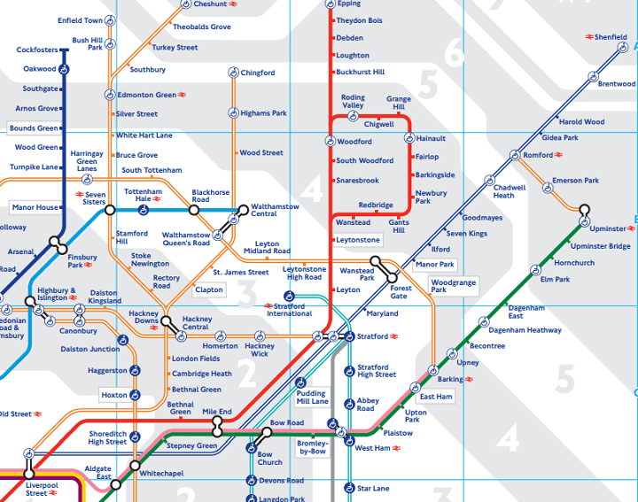 londons got a new tube map
