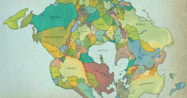 How The World Might Look In 250 Million Years With Current...