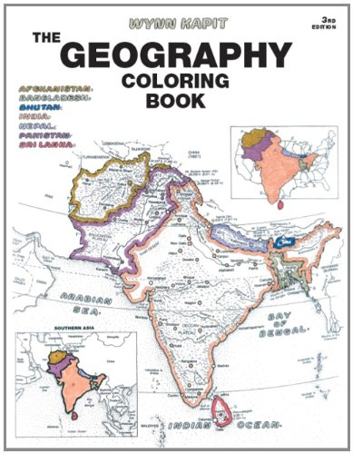 15 Great Map Geography City Travel Adult Coloring Books
