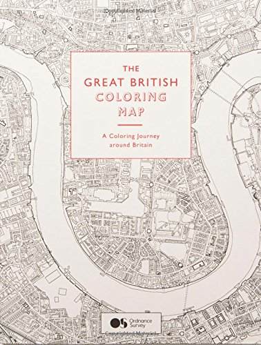 description color your way around britain with this exclusive book in association with ordnance survey based on the accurate maps of ordnance survey - Geography Coloring Book