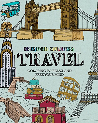 travel inspired coloring - Travel Coloring Book