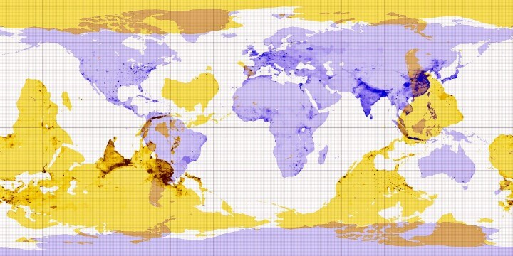 Antipodes World Map & Why You Can't Dig To China From The US
