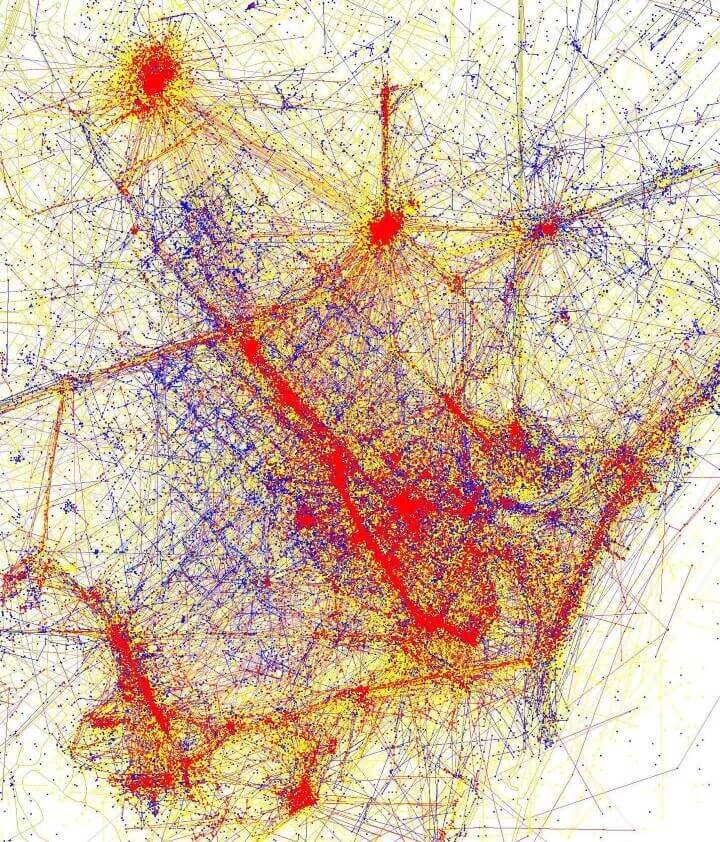 Tourists Vs Locals 20 Cities Based On Where People Take Photos – Tourist Map Of Buenos Aires