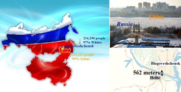 Blagoveshchensk-Heihe: The World's Most Unusual Conurbation?