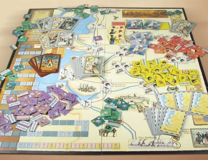 The 28 best map based strategy board games youve probably never brass gumiabroncs Images