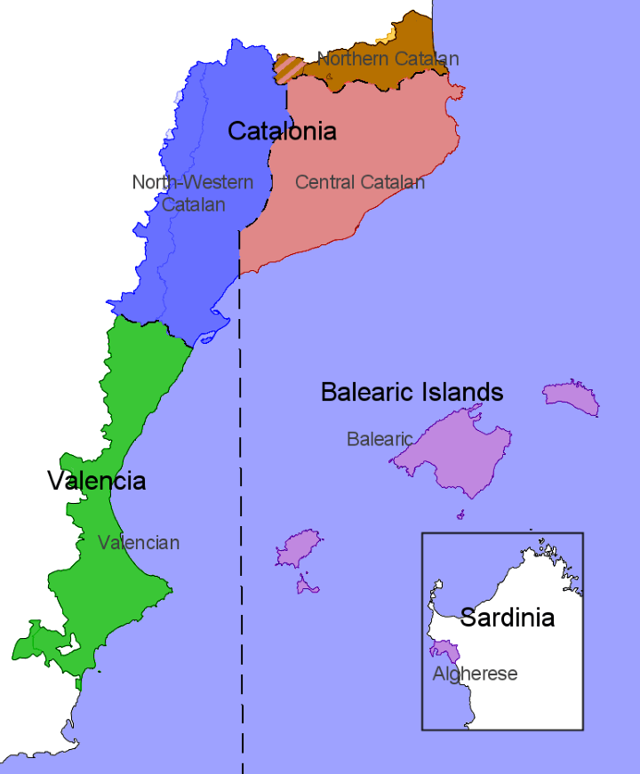 Catalan-dialects