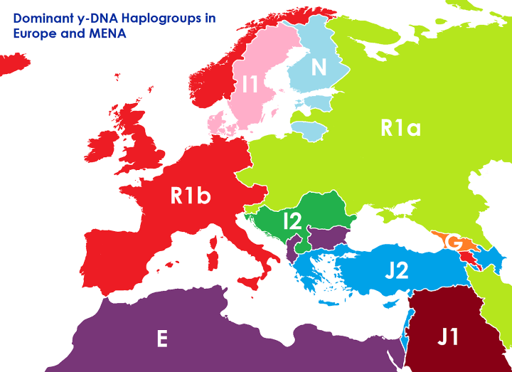 If European Borders Were Drawn By DNA Instead Of Ethnicity ... on