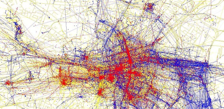 Tourists Vs Locals 20 Cities Based On Where People Take Photos – Tourist Map Dublin