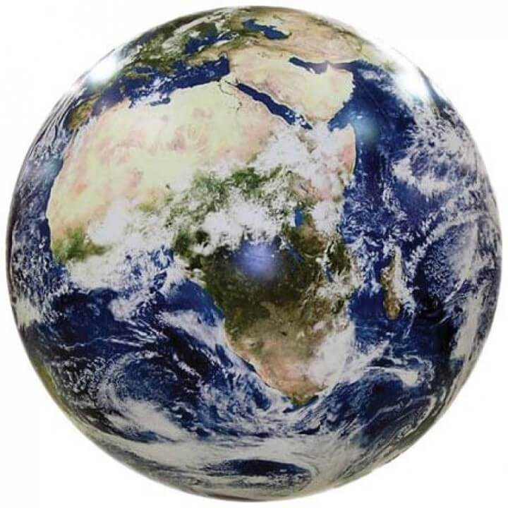 Earthball, Inflatable Earth Globe