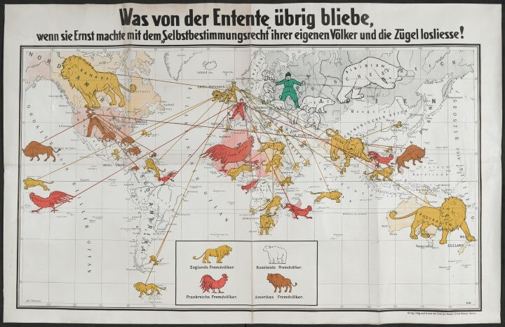 Map Of Germany 1919.Maps And The 20th Century Drawing The Line Review Brilliant Maps