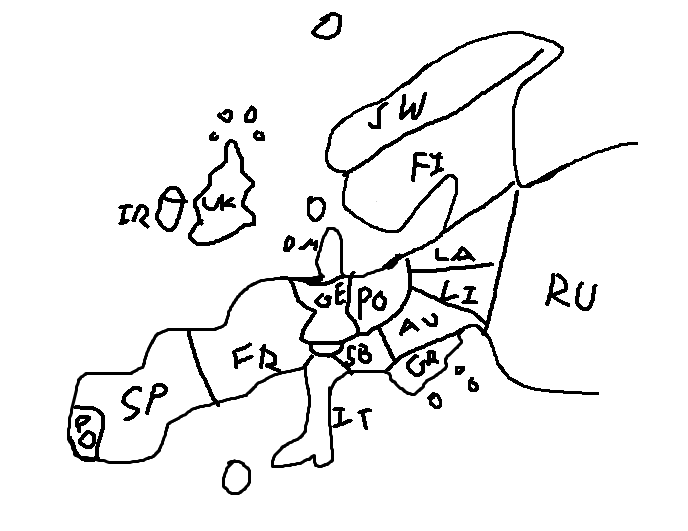 Hilariously Bad Attempts By Americans to Draw Europe From Memory ...