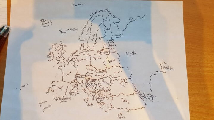 Europe-from-memory-Yetkinler-Turkey