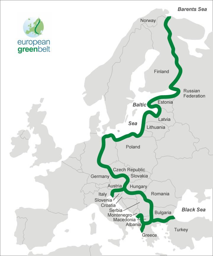 The European Green Belt Follows The Corridor of The Former Iron Curtain