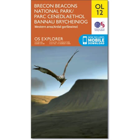 OS Explorer Map of Brecon Beacons National Park