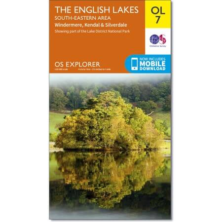 OS Explorer Map of The Lake District