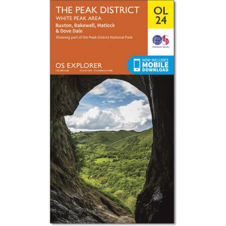 OS Explorer Map of The Peak District