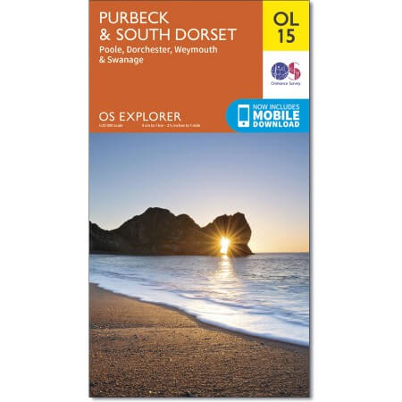 OS Explorer Map of Purbeck and South Dorset