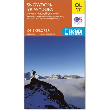 OS Explorer Map of Snowdon