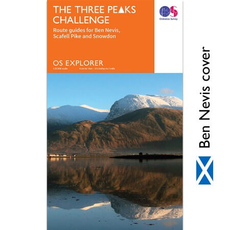 OS Explorer Three Peaks Challenge Map