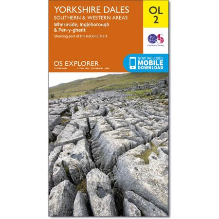 OS Explorer Map of Yorkshire Dales