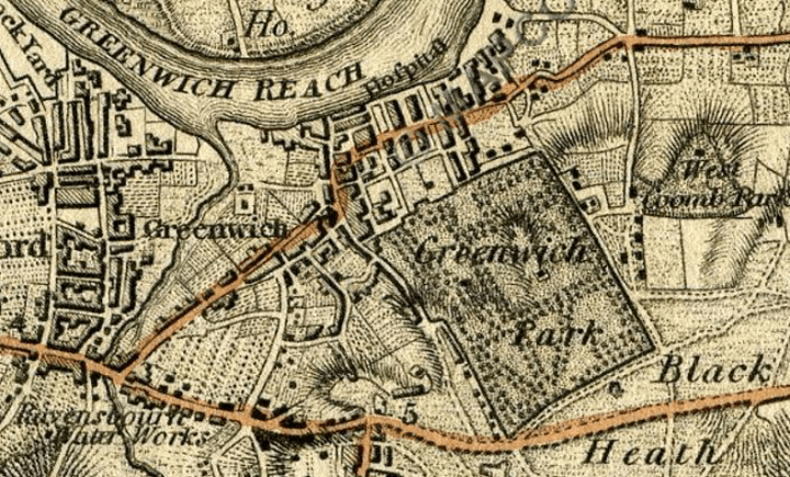 Greenwich, 1801