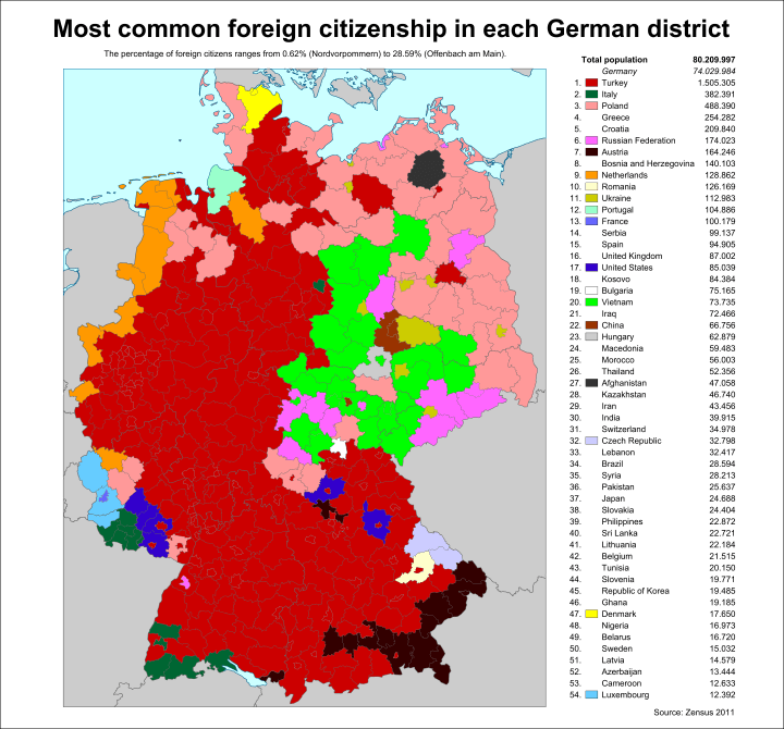 German foreign citizenship