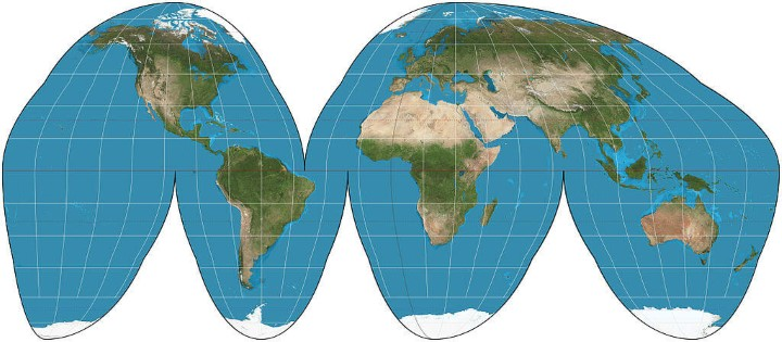 Map projections what they say about you brilliant maps goodehomolosineprojection gumiabroncs Gallery
