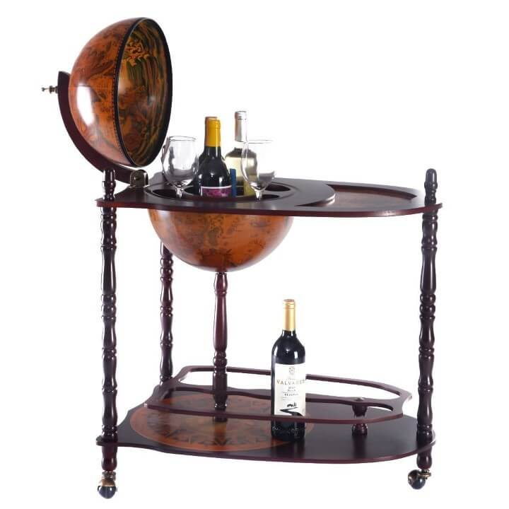 Old Modern Handicrafts Globe Drink Trolley