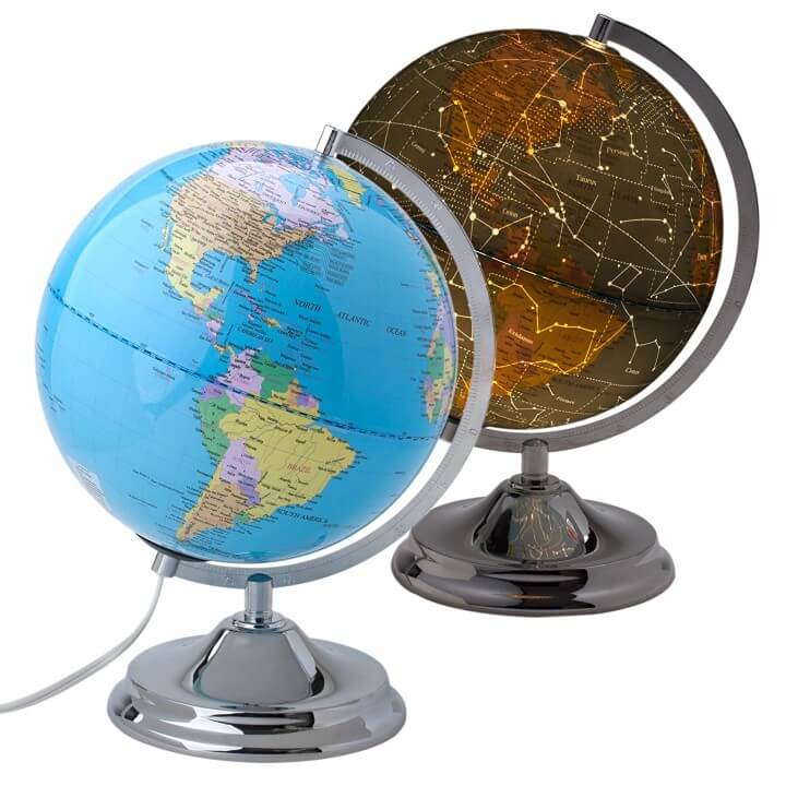 11 best world globes for kids children brilliant maps 11 home premium educational globe gumiabroncs Image collections