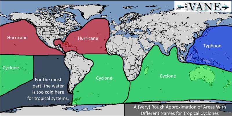 A hurricane by any other name what tropical cyclones are called a hurricane by any other name what tropical cyclones are called around the world gumiabroncs Gallery