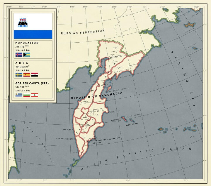 What If Kamchatka Was an Independent Country
