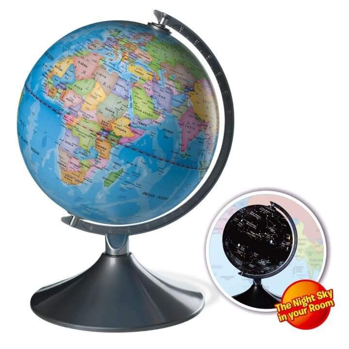 11 best world globes for kids children brilliant maps kidzlane 2 in 1 interactive globe for kids gumiabroncs Choice Image