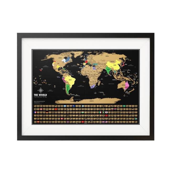 15 best scratch maps for your 2018 travel adventures brilliant maps landmass goods black scratch off world map gumiabroncs Image collections