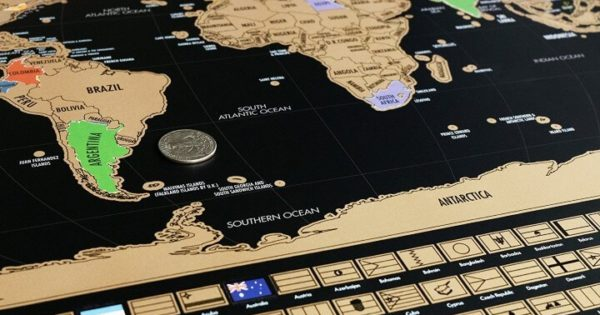 17 Best Scratch Maps For Your 2019 Travel Adventures ...