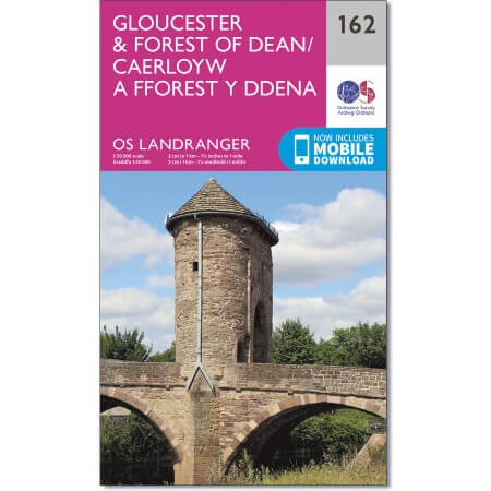 OS Landranger Map of Gloucester & Forest of Dean