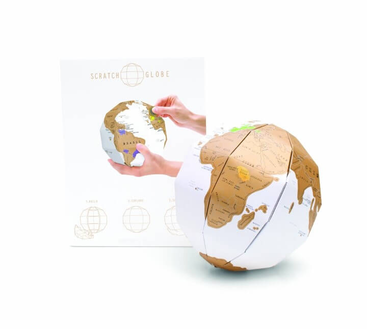 Luckies of London Scratch Globe