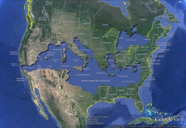 The Mediterranean Sea of America – Brilliant Maps